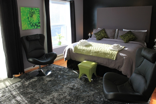 King Suite mini Make-Over at the Abadin B&B