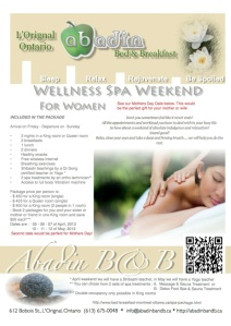 Wellness Spa Weekend for Women only